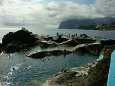 Piscinas naturales.Madeira.