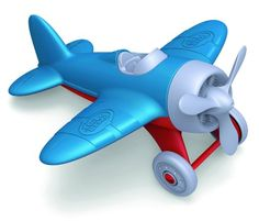 Amazon.com: Green Toys Airplane, Blue: Baby *9 PAID