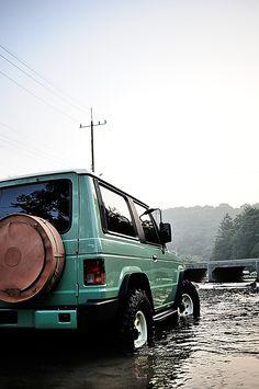 Mitsubishi Pajero -> MOHENIC GARAGEs redesign -> 2013 Monica Gallop