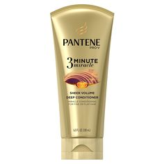 Pantene Sheer Volume 3 Minute Miracle Deep Conditioner, 6 Fluid Ounce ** Insider's special review you can't miss. Read more  : Beauty products 99 cent
