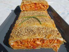 Empanada de cangrejo Ana Sevilla con Thermomix (Hacerlo como contenido de pizza de claras)