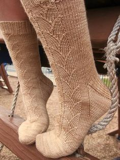 Ravelry: My Cup of Tea socks pattern by Robin Lynn