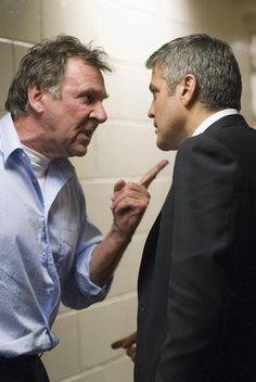 Tom Wilkinson & George Clooney in Michael Clayton