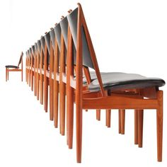 The Egyptian Chair By Finn Juhl 1 - the angle of the backrest is an old practise of making chairs during the ancient Egyptian era
