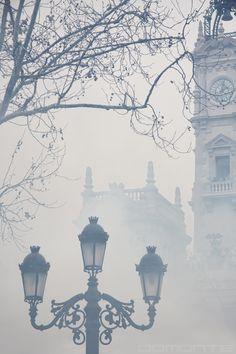 "Foggy London lamp  ""Fum"" (""Humo"", ""Smoke"") [5/7] / By Domonte Design"