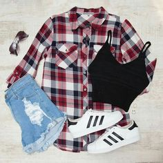 #clothes Punk Outfits, Crop Top Outfits, Teen Fashion Outfits, Cute Casual Outfits, Outfits For Teens, Stylish Outfits, Girl Outfits, Fall Winter Outfits, Summer Outfits