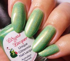Lilypad Lacquer Slimey Limey