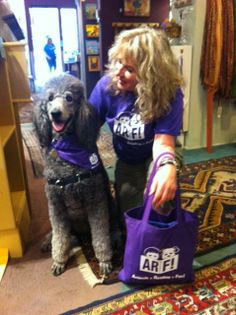 Tucker and I head out for our first session with ARF (Animals + Reading = Fun!) at the public library. We had an absolutely inspiring experience! Thanks Karen @All for Animals --Santa Barbara
