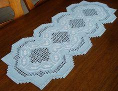 Spectacular HARDANGER Embroidery *** TABLE RUNNER ***  handmade