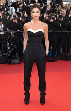 Victoria Beckham at the opening ceremony premiere of Café Society.