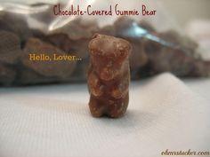 Chocolate-covered Gummie Bears