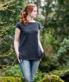 Ravelry: Simple Tee pattern by Churchmouse Yarns and Teas