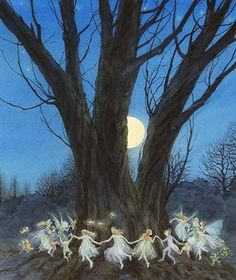 Dancing fairies in the moonlight...