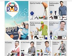 """Check out new work on my @Behance portfolio: """"Fathers day Landing Page"""" http://be.net/gallery/38501717/Fathers-day-Landing-Page"""