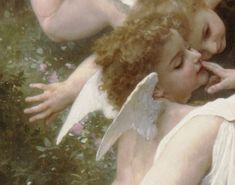 Angel Aesthetic, Aesthetic Art, Aesthetic Pictures, Renaissance Paintings, Renaissance Art, Munier, William Adolphe Bouguereau, Old Paintings, Classical Art