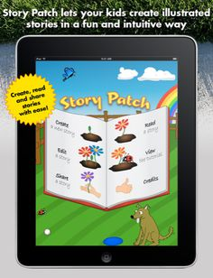 An iPad app that takes a student step by step through the process of creating a story.