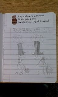First Grade Math Journals... ready to start these very soon!