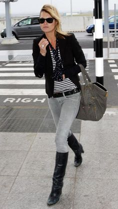 Kate Moss in Skinny Jeans | The Styled Life: Style Sass: Kate Moss