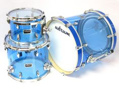 Underground Drum Co. - UDRUM acrylic blue kit