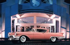 Only a few cars in history look this good in Pink - 1957 Cadillac Eldorado