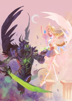 Sky Anime, Evil Anime, Anime Angel, Otaku Anime, Anime Art, Mobile Legend Wallpaper, Hero Wallpaper, Anime Character Drawing, Cute Anime Character