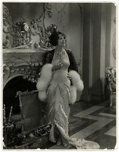 1920s Flapper Norma Talmadge Exceptional John Miehle Vintage Large Photograph