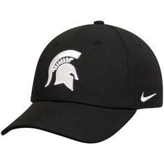 Michigan State Spartans Nike Performance Dri-FIT Classic Adjustable Hat – Black