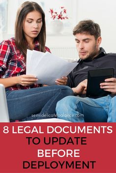 8 Legal Documents to Update Before Deployment, military life