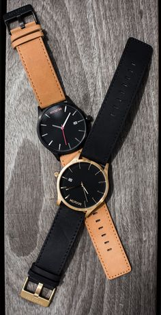 No need for bling to make a statement, these classy minimalist watches will keep you looking fresh.