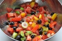 Соус сальса с оливками