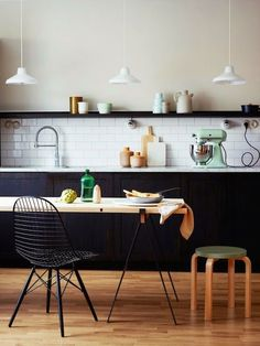 The only thing I like more than an Eames Molded Chair is an Eames Wire Chair.