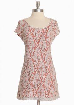 ShopRuche.com...Grey lace over rust cotton backing. So pretty! $38