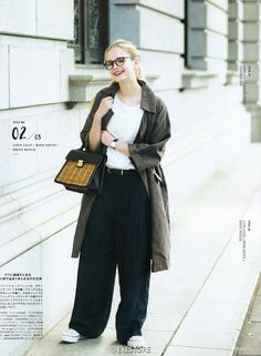 fudge Japan Summer, Magazine Japan, Tomboy Look, Japan Outfit, Fashion Photo, Spring Outfits, Winter Fashion, Womens Fashion, Ladies Fashion