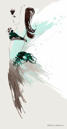 Ellie Rahim Illustration and Design: Fashion Illustration