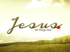 ~Jesus, all things new~ Galatians 2:20 New Living Translation (NLT) 20 My old self has been crucified with Christ.[a] It is no longer I who live, but Christ lives in me. So I live in this earthly body by trusting in the Son of God, who loved me and gave himself for me.