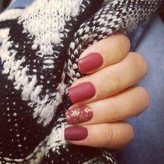 Autumn nails ❤🍁🍁😍