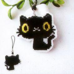 Black Cat - Cross Stitch Ornament