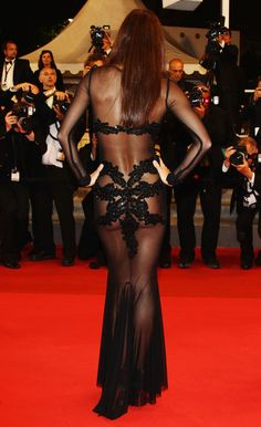 Candice Boucher at Cannes Film Festival in Rajah