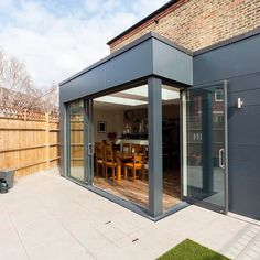 """Resi on Instagram: """"Modern design meets a traditional build, with this sleek extension. Our designers are never afraid to go bold! • • #architecture…"""" Patio Roof, Modern Design, To Go, House Ideas, Designers, Traditional, Architecture, Building, Instagram"""