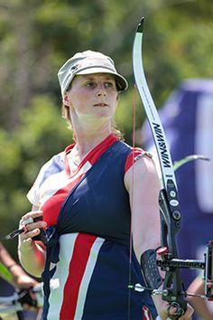 Naomi Folkard - Archery.