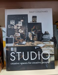 Studio by Sally Coulthard. Home Learning, Creative People, Sally, Studio, Space, Books, Design, Home Decor, Atelier