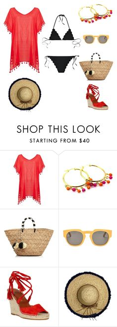 """""""Spring Break Essentials"""" by manictrout ❤ liked on Polyvore featuring мода, Seafolly, JETS, Kayu, Marni и La Fiorentina"""