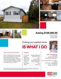 10308-101 Street, Fairview AB MLS L094903