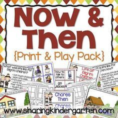now and then print and play pack