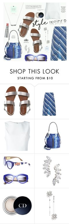 """""""Our First-Ever Contest JUST for Style Insiders!"""" by katarina-blagojevic ❤ liked on Polyvore featuring Aéropostale, J.W. Anderson, Alice + Olivia, Elizabeth and James, Dolce&Gabbana, Lola James Jewelry, Christian Dior, L. Erickson, Chantecaille and contestentry"""