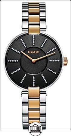 RADO RELOJ DE MUJER CUARZO CORREA DE ACERO DOBLE TONO CAJA DE ACERO R22850713  ✿ Relojes para mujer - (Lujo) ✿