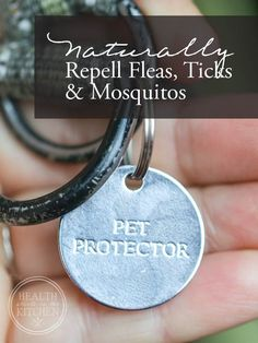 Pet Protector; The Best Non-Toxic Way to Prevent Fleas, Ticks & Mosquitos - Health Starts in the Kitchen