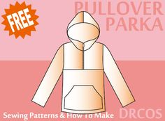Pullover Hoodie sewing patterns & how to make