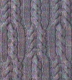 Косы. Обсуждение на LiveInternet - Российский Сервис Онлайн-Дневников Lace Knitting Stitches, Cable Knitting Patterns, Knitting Designs, Knit Patterns, Stitch Patterns, Happy Mom, Knitted Blankets, Knit Crochet, Crafty