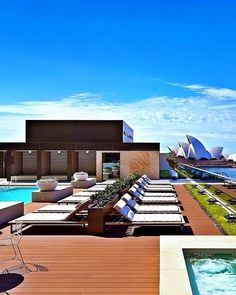 Sit back and relax at Park Hyatt Sydney, located between the iconic Sydney Opera House and Harbour Bridge.